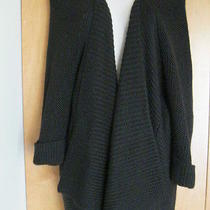 398 Brochu Walker Designer Women Jacket Sweater Cardigan Balck Size S Photo