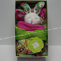 3pc Layette Set - Tutti Frutti 0-3 Months Vera Bradley Coverall Hat Rattle Nwt Photo