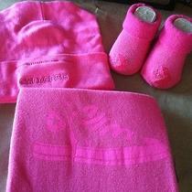 3pc Set Girls Converse All Stars Baby Booties Crib Socks Beanie Bodysuit Nwt Photo