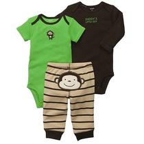 3pcs Set New 2014 Original Carters Baby Boys Clothing Set Bebe Romper Bodysuits Photo
