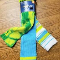 3pr Reebok Womens M 5-10 All Sport Mix Otc Socks Blue White Green 88074 Fast F17 Photo