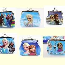 3x Disney Cartoon Fantasy Frozen Purses Wallets Coin Children Kids Gift New Photo