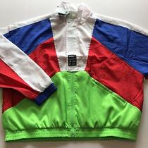 3x Puma Mens M Tfs 90's Retro Style Jacket Red/blue/green/white 598556 87 Lot 3 Photo