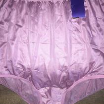 3xl/10 Vintage Vanity Fair Perectly Yours Nwt Blush Nylon Women's Cd Panties Photo