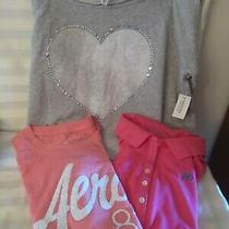 4  Aeropostale Ladies Shirts Nwt Sz Lg  1t 1polo Style 1 Sweatshirt Photo