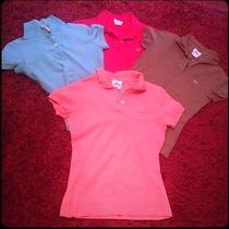 4 Lacoste Polo Shirts Photo