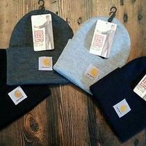 4-Pack. Nwt- Carhartt Watch Hat Beanie Sock Cap A18 Photo
