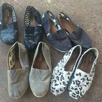 4 Pairs Great Pricewell Loved Toms Size 6.5 and 7 Sweet Price Photo