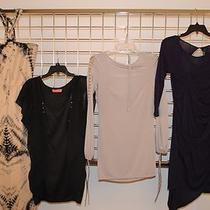 4 Pcs. New All Designer Dresses Guess/karen Millen..... Size Xs & 4 80% Off  Photo