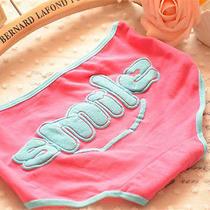 4 Pcs Red Smile Women Briefs Panties Underpants Lingerie Underwear Photo
