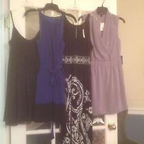 4 Piece Dress Set Express white& Black Size Small New & Used Photo