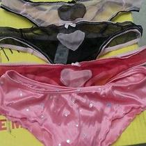 4 Women's Panties Thongs by Avon Sz M Photo
