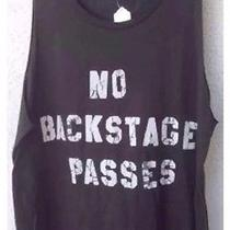 40 New Junk Food Brand No Backstage Passes W/lightning Bolt on Back Size M Photo