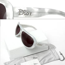 440 Christian Dior Ladies Mother-of-Pearl Sunglasses W/ Tag Photo