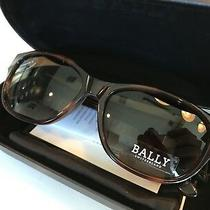 450 Bally Womens Tortoise Oval  Sunglasses Made in France Photo