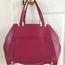 450  New Nwt  Zac Posen Quartz Extreme Soft Shopper Tote  Satchel Bag New  Photo