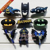 45pcs Batman Pvc Shoe Accessoriescartoon Shoe Charms for Bracelets Croc Gifts Photo