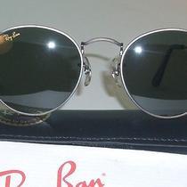 46mm b&l Ray Ban G15 Uv Glass Antique Gunmetal Wire Round Aviator Sunglasses New Photo