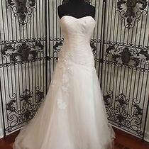 47 Eden Bl052 Sz 10 Blush Simply Elegant 900 Formal Wedding Gown Dress Photo