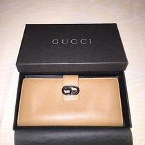 470 Authentic Gucci Wallet. in Light Brown or Camel Color. Excellent Condition. Photo