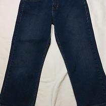 4706 Levi's  Womens Cropped Jeans Capris  Size 6 30 X 22  Photo