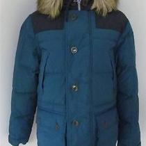 495 J Crew Wallace & and Barnes Sawtooth Parka Blue Coat Jacket Winter Size S Photo