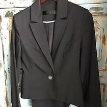 495 l.a.m.b. Women's Black One Button Blazer Jacket Size 6 Photo
