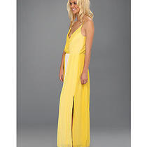 498 Nwt Joie Ives Ombre Maxi Dress Vintage Lemon Sz S - Seen on Tv - Gorgeous Photo