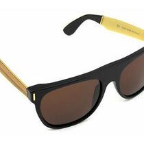 4a8 Super Sunglasses Flat Top Francis Wood Retrosuperfuture 289 - Msrp Photo