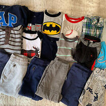 4t Boy Winter Clothes Lot 18 Pieces Baby Gap Oshkosh Old Navy Carters Photo