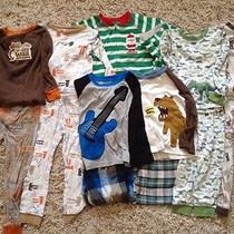 4t Boys Pajamas Lot of 7 Two-Piece Sets Carters Child of Mine Old Navy Photo