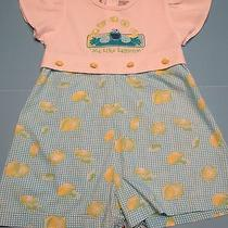 4t One-Piece Short Set by Sesame Street Photo