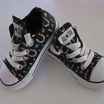 5 Baby Girl Converse Tennie Shoes Horse Shoe Cowgirl Clover Lucky Rainbow Toddle Photo