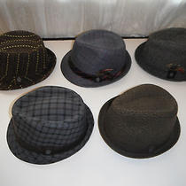 5 Hats - Christys Crown Series Fedora Hat Lot Size Large Photo