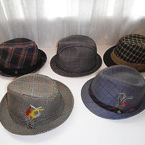 5 Hats - Christys Crown Series Fedora Hat Lot Size Medium Photo
