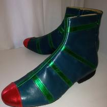 5 Off Size 7 8 Theatrical Fancy Dress Space Pimp Sci Fi 60 70 Elf Boot Handmade Photo