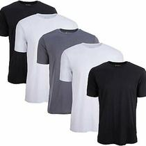5 Pack Men's Active Dry Fit Moisture Wicking Athletic Performance Workout... Photo