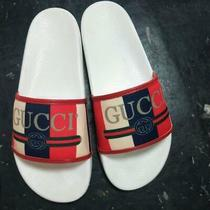 500 Gucci New White Logo Sandals Size 38 Absolute Clearance Sale No Box Photo