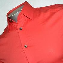 5049-K Mens Express 1mx Shirt Modern Fitted Pink Size Xs 97% Cotton New Photo
