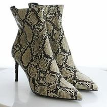 51-55 Msrp 169.95 Women's Size 11 Jeffrey Campbell Khalees Snakeprint Booties Photo