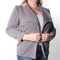 52 Grace Elements Gray Blazer Jacket L Bb Photo