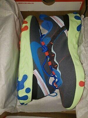 52 Nike React Element 55 SE Grey Men's Running CT1142-700 Shoes Size 8 Photo