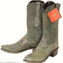 520 New Lucchese (1883) Gray Marsh Goat Cowboy Boots Men's 9 D 400 Photo
