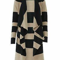 525 America Blue Women's Sweater Size Small S Striped Cardigan 148- 073 Photo