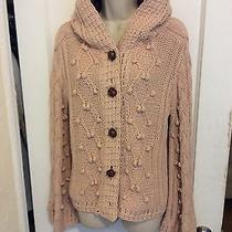 525 America Cable Knit Hooded Sweater Photo