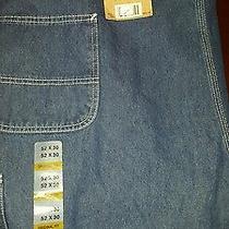 52x30 Carharrt Blue Jeans Photo
