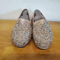 55 Bobs From Skechers Women's Lux  - Glitterville Flats Rose Gold 7 M Us Photo