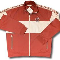 550 Bally Animals Red Track Jacket Size Xxl Made in Italy Photo
