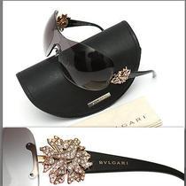 575 Bvlgari Ladies Diamond Crystal Sunglasses Photo