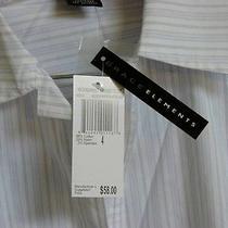 58 Grace Elements New Womens Top Shirt 68% Cotton 29% Nylon 3%Spandx Size 4 Nwt Photo